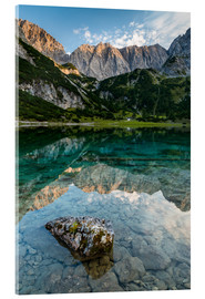 Acrylic print  Clear water - Denis Feiner