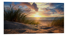 Foam board print  Baltic beach - Steffen Gierok