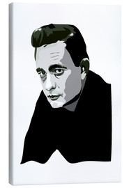 Canvas print  Johnny Cash - Anna McKay