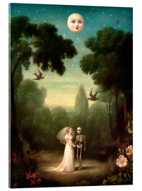 Acrylic print  The dowry of the moon - Stephen Mackey