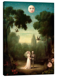 Canvas  The moons trousseau - Stephen Mackey