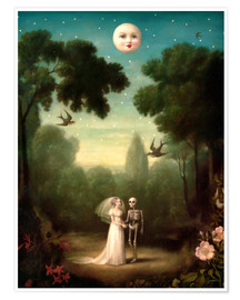 Poster  The moons trousseau - Stephen Mackey