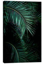 Canvas print  Palm leaves 9 - Mareike Böhmer