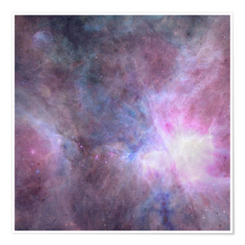 Premium poster  The Purple Density Of The Universe - Barruf