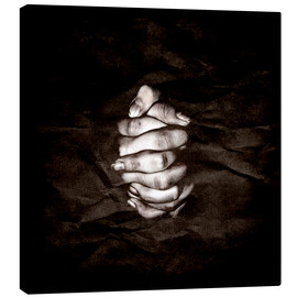 Canvas print  Pray - Linnea Frank
