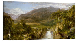 Canvas print  Heart of the Andes - Frederic Edwin Church
