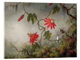 Martin Johnson Heade - Hummingbird on a passion flower