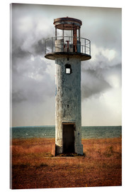 Acrylic print  On old light house in Estonia - Jaroslaw Blaminsky