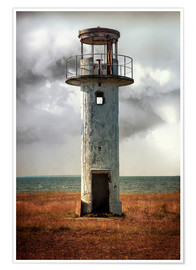 Premium poster On old light house in Estonia