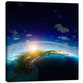Canvas print  The Earth from space, NASA