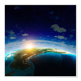 Premium poster The Earth from space, NASA