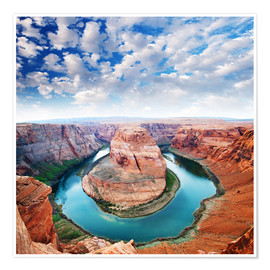 Poster  Colorado canyon view