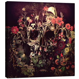 Canvas print  Bloom Skull - Ali Gulec