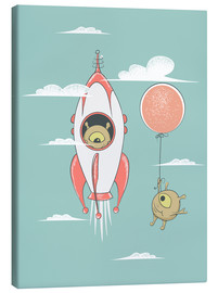Canvas print  Alien race - Kidz Collection