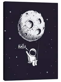 Canvas print  Moon swing - Kidz Collection