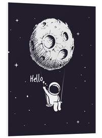 Foam board print  Moon Swing - Kidz Collection