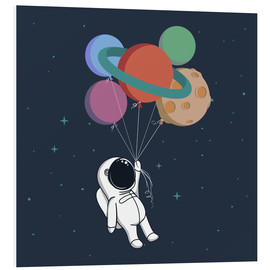 Foam board print  Space journey - Kidz Collection