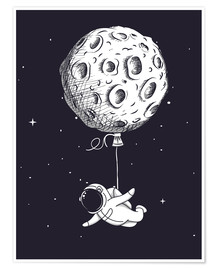 Premium poster  Dream of flying - Kidz Collection
