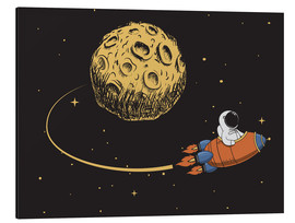 Aluminium print  To the moon and back - Kidz Collection