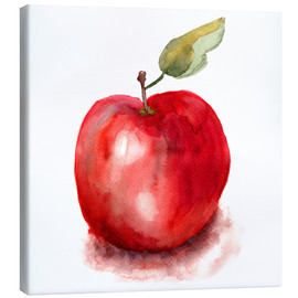 Canvas  Sweet apple watercolor