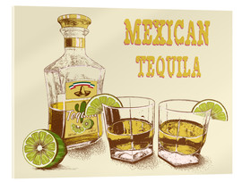 Acrylic print  Tequila Drink