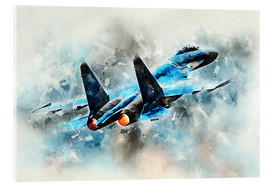 Acrylic glass  Flanker - airpowerart