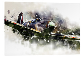 Acrylic print  Spitfire - airpowerart
