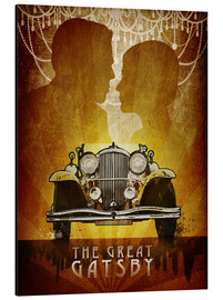 Aluminium print  The Great Gatsby - Albert Cagnef
