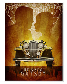 Poster  The Great Gatsby Poster - Albert Cagnef