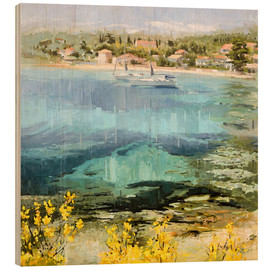 Wood print  Clear water - Johnny Morant