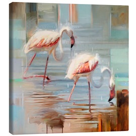 Johnny Morant - Sardinian flamingos II