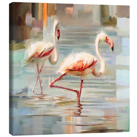 Johnny Morant - Sardinian flamingos