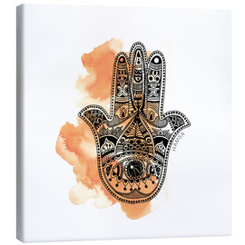 Canvas  YOGA Symbol Hand - SMUCK