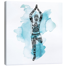 Canvas print  YOGA FLOW Asana - SMUCK