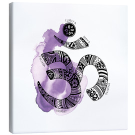 Canvas  OM YOGA Symbol - SMUCK