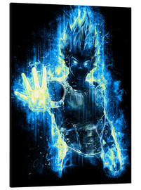 Aluminium print  God Prince of Saiyans - Barrett Biggers