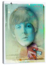 Canvas print  paul mccartney - Daniel Matzenbacher