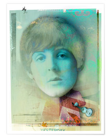 Premium poster paul mccartney