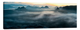 Canvas print  Zschand Panorama - Tobias Roetsch