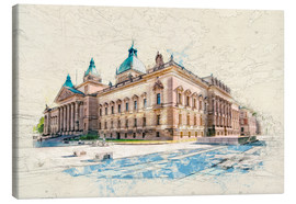 Canvas print  Leipzig Federal Administrative Court - Peter Roder