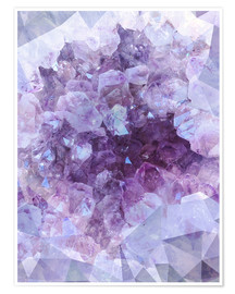 Premium poster  Light crystal - Emanuela Carratoni
