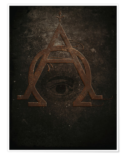 Premium poster alpha and omega