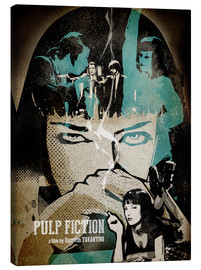 Canvas print  Pulp Fiction - Albert Cagnef