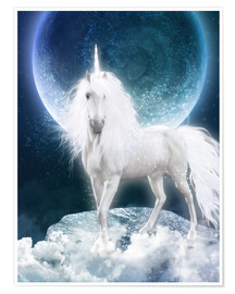 Premium poster Unicorn - Magicmoon