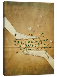 Canvas print  Let's grow together - Sybille Sterk