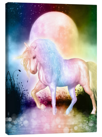 Canvas print  Unicorn, love yourself - Dolphins DreamDesign