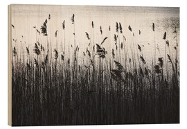 Wood print  At The Lake - Mareike Böhmer