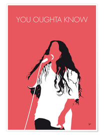 Premium poster Alanis Morissette - You Oughta Know