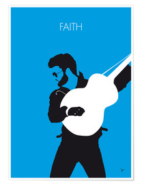 Premium poster George Michael, Faith