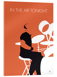 Acrylic print  Phil Collins - In The Air Tonight - chungkong